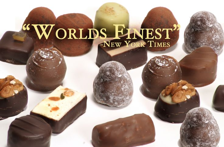 Teuscher chocolates are wonderful, but world's finest trophy goes to La Maison du Chocolate