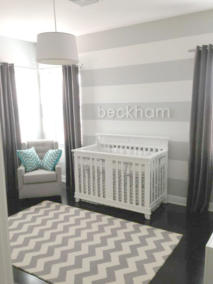 Neutral Chevron Nursery Bedding Zig Zag Baby In Gray Collection