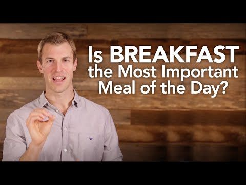 breakfast - the most important meal of the day essay Breakfast is not the most important meal june 10, 2014 by adam bornstein 0 comments for years i told people that breakfast was the most important meal of the day.