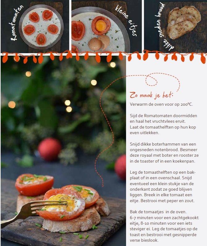 tomaat ei notenbrood recept Edith Vervest Vers Branding voor Bakkerij van Heeswijk