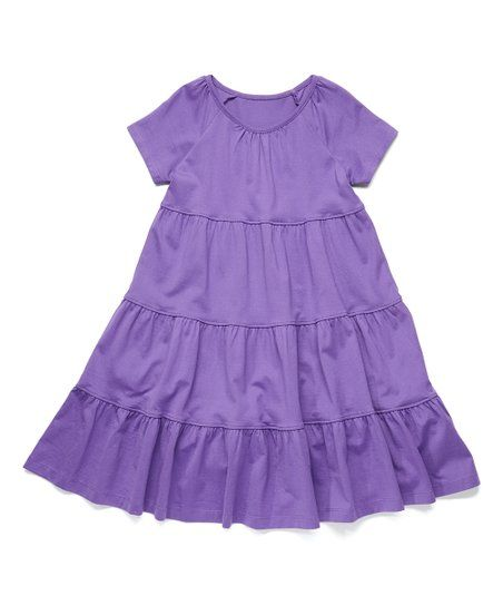 1a3d6c11ba8e Hanna Andersson  Wisteria II  Purple  Twirl Power  Dress -  Toddler ...