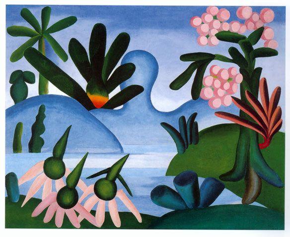 Tarsila do Amaral - O Lago
