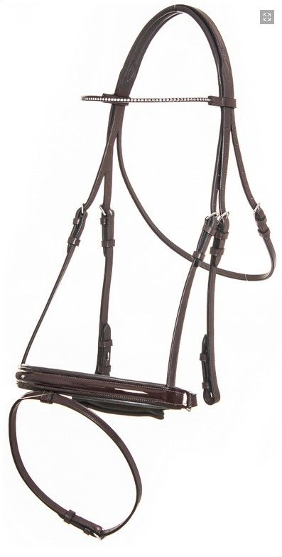 QHP Hera Leather Bridle