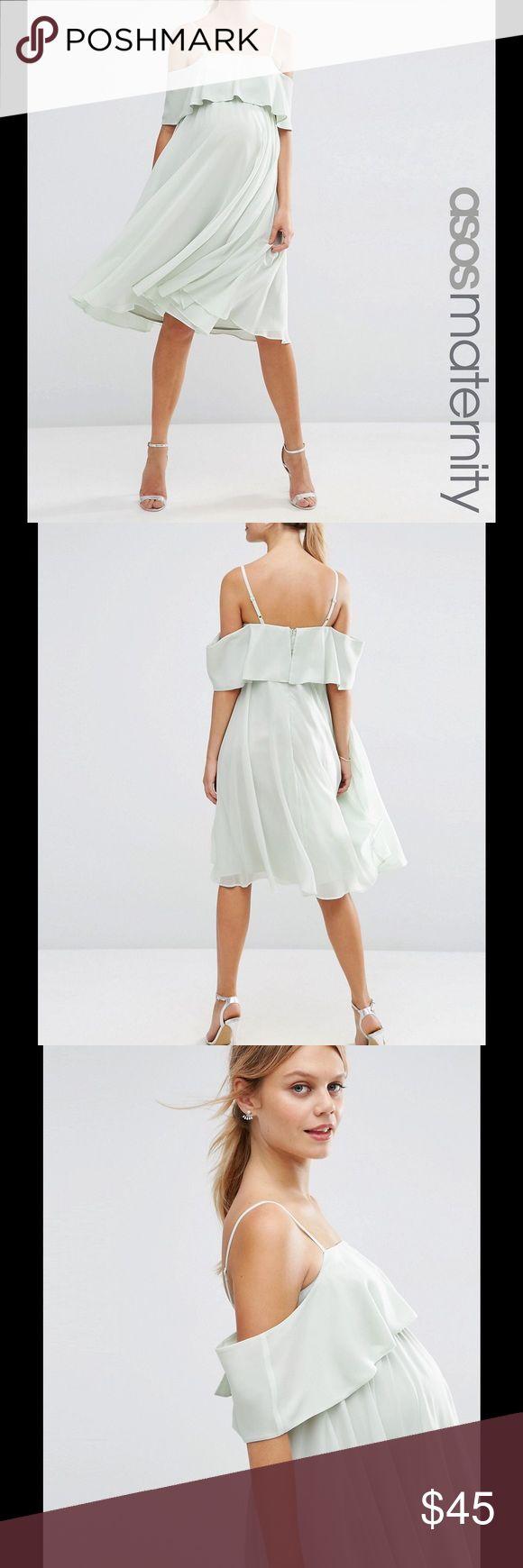Best 25 maternity dresses uk ideas on pinterest maternity short pale mint asos maternity dress nwt ombrellifo Choice Image
