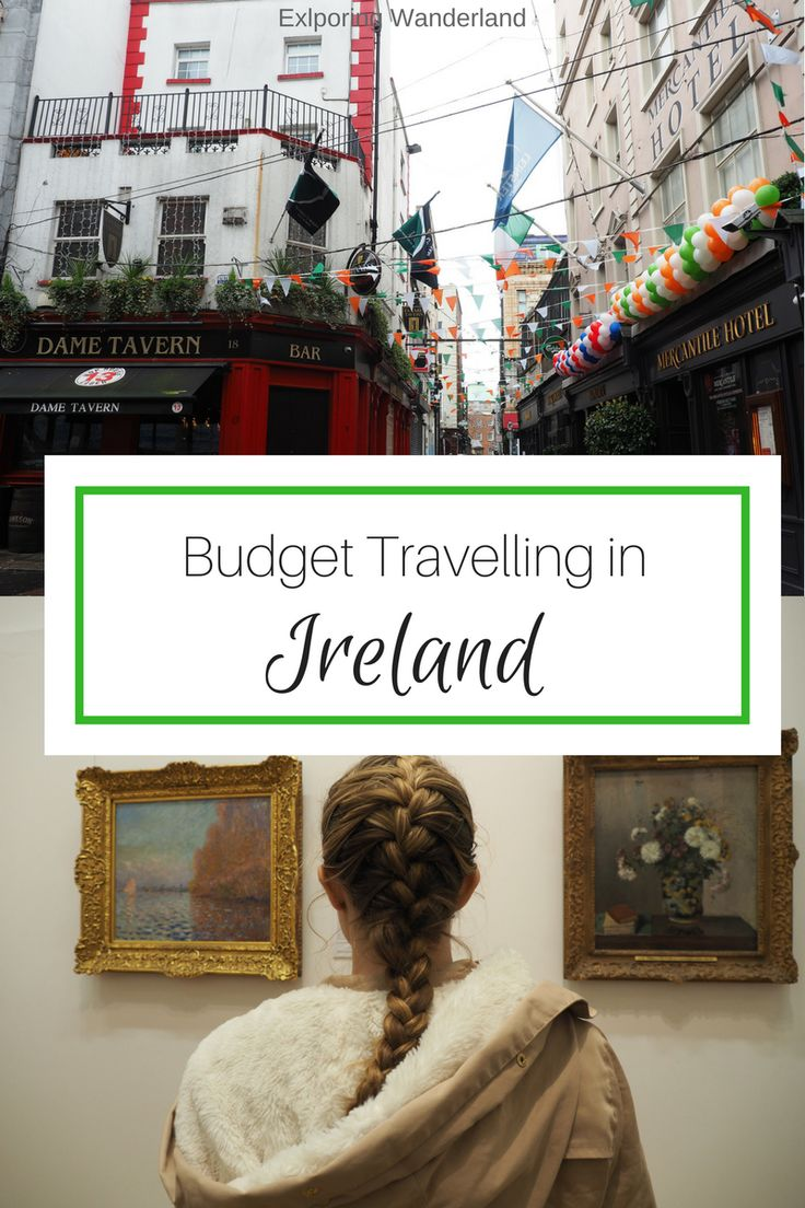 Budget Travelling around Ireland - Dont let money stop you #ireland #budgettravelling