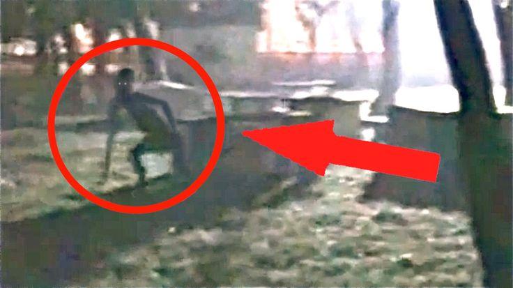 The Rake Creature caught on Camera