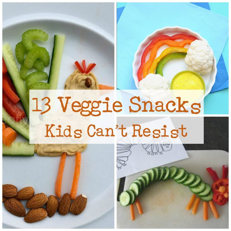 13 Veggie Snacks Your Child Can't Resist | Healthy Ideas for Kids