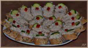 Rybičková pomazánka s celerem