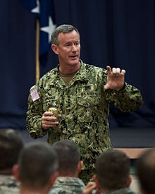 Admiral McRaven  -  U.S. Special Operations Command.  Literally wrote the book on Special Operations.