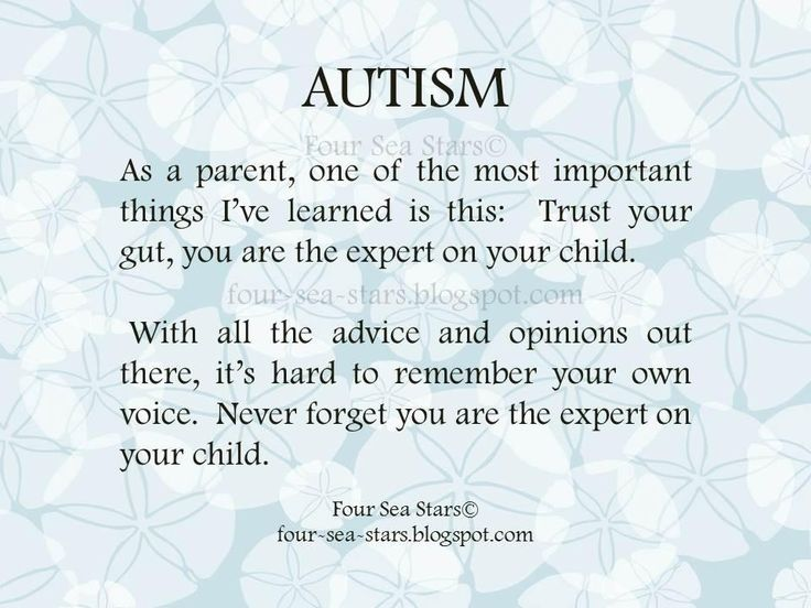 #autism. For my mom who discovered this in me a few years ago.