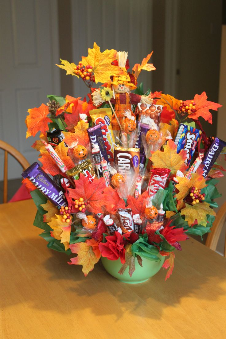 95 best candy bouquets images on pinterest candy bar bouquet candy bouquet autumn izmirmasajfo Choice Image