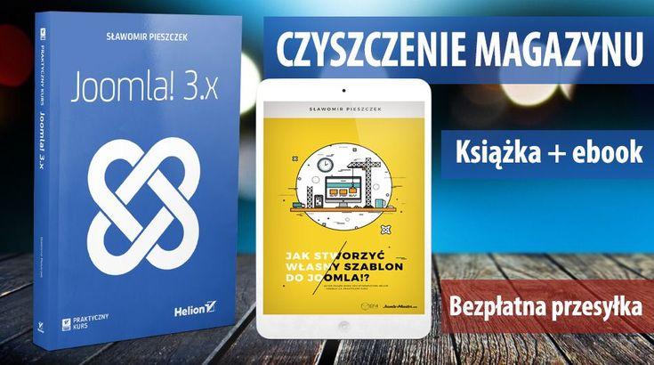 Czyszczenie magazynu w slawop.NET❗ ➡Ostatnie 10 sztuk⬅ 👉 Kup książkę #Joomla3PraktycznyKurs a otrzymasz #ebook-a #KursJoomlaEF4 za free 💲 👉 przesyłka za free💲
