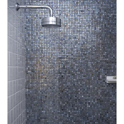 Vihara Glass Tile From Sonoma Tilemakers Makes This Shower Sparkle