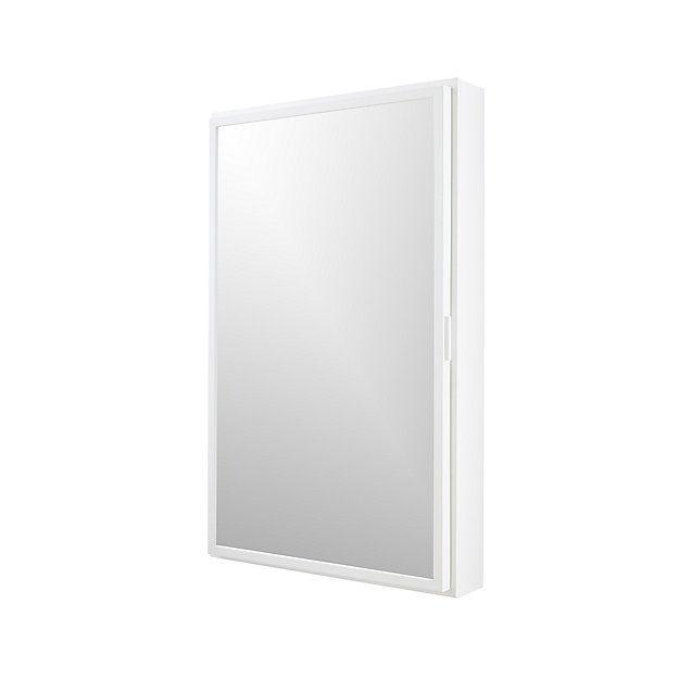 Best 25 white medicine cabinet ideas on pinterest white - Crate and barrel bathroom vanities ...