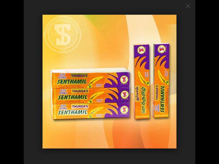 THURGA's Premium Incense SENTHAMIL $10 packet/24 sticks available @ Qincense.com.au