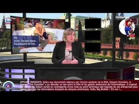 Bernard Henri Levy humilié par ProRussia.tv