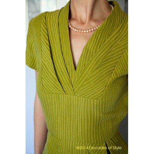 Schnittmuster: 5007 - 1950s Object d'Art Dress