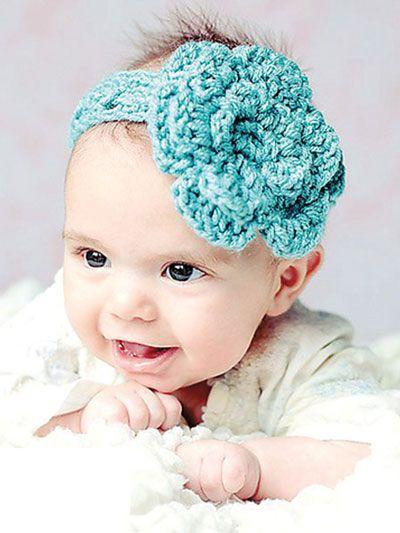 90 best Crochet Baby Headbands images on Pinterest | Crochet ...