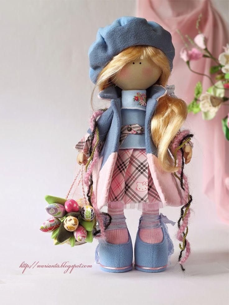 warianta. кукольная территория: Марта. С праздником весны!