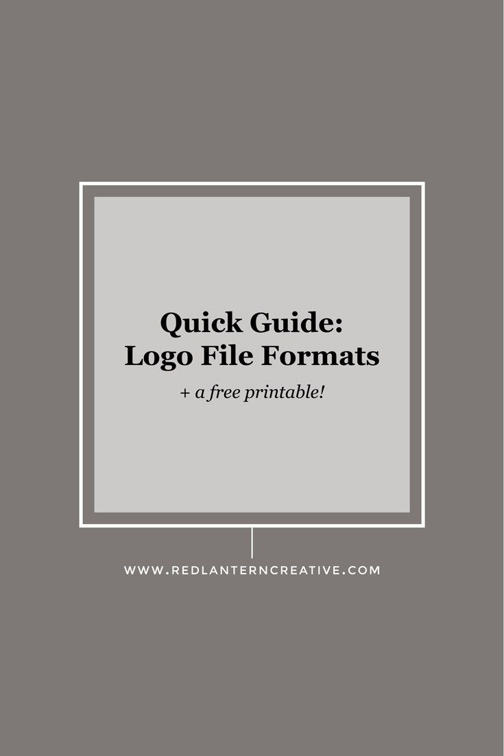 Logo file formats can be super confusing. Here's an easy-to-understand guide summarizing what each file is and how to use to it.