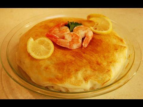 ▶ Moroccan Fish Bastila (Pastilla) - YouTube