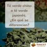 Diferencias entre el té verde chino y el té verde japonés
