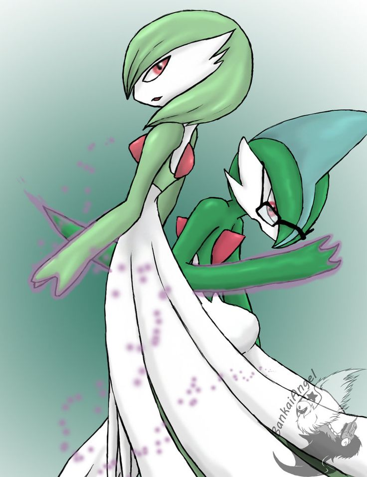17 best images about gallads and also gardevoir on
