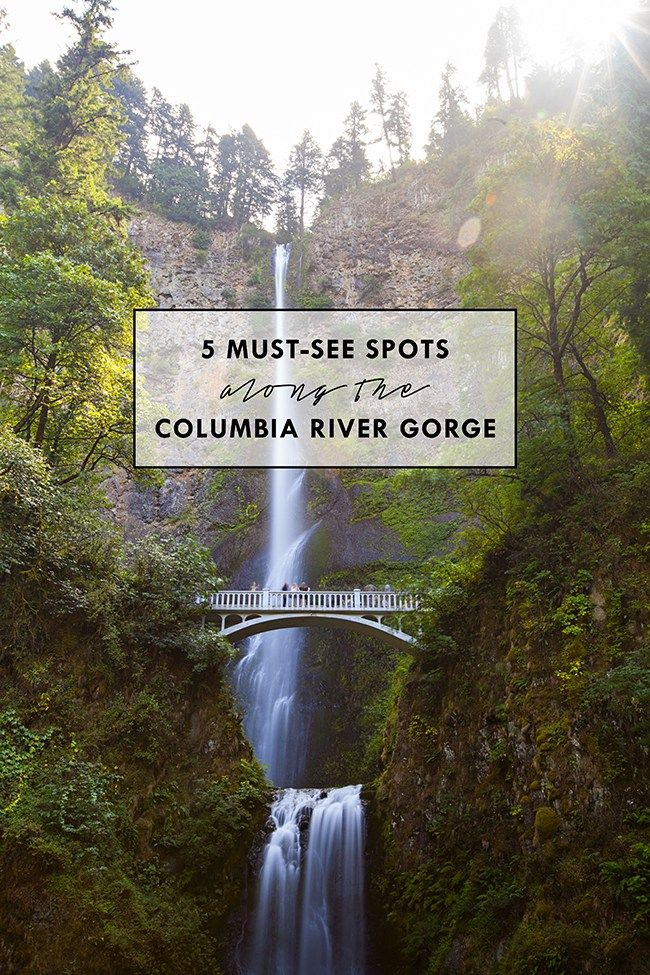 5 Must-See Spots along the Columbia River Gorge