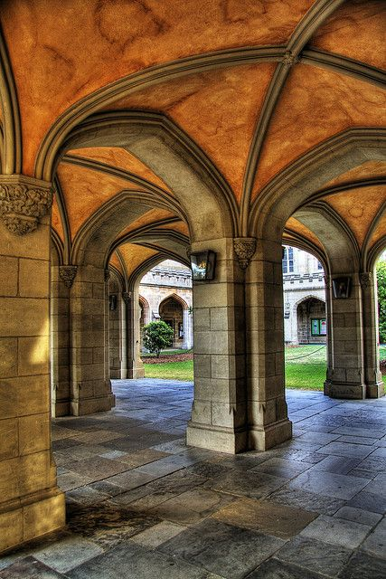 The University of Melbourne- Old Quadrangle. I adored doing my undergrad at Melbourne, and fully intend on doing a postgrad there too!