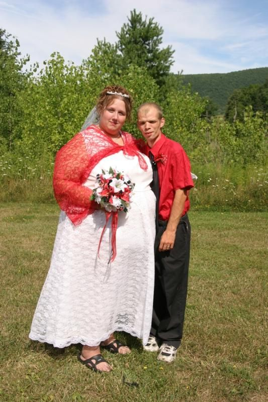 Hillbilly marriage odd people pinterest wedding for I love wedding dresses