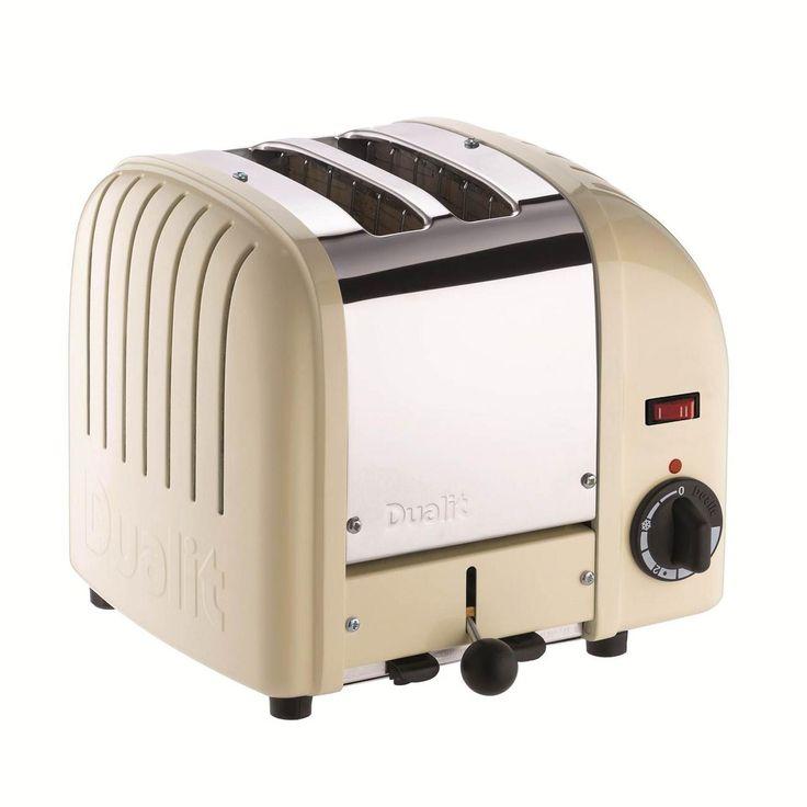 Cream Toaster Ovens ~ Vintage toaster dualit slice retro cream