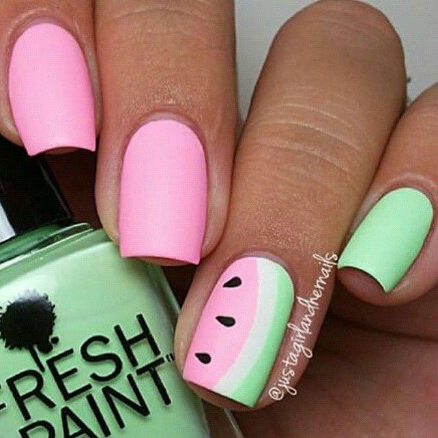 """""""Deze super schattige nagels zijn leuk en makkelijk te maken!!!!"""""""