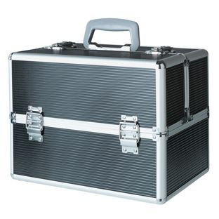 Buy Large Black Aluminium Vanity Case at Argos.co.uk - Your Online Shop for Make up bags and cases.