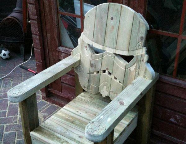 Silla casco Stormtrooper