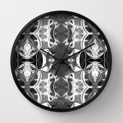 Buy Abstract: Dame de la Nuit by Sonia Marazia as a high quality Wall Clock. Worldwide shipping available at Society6.com. Just one of millions of…