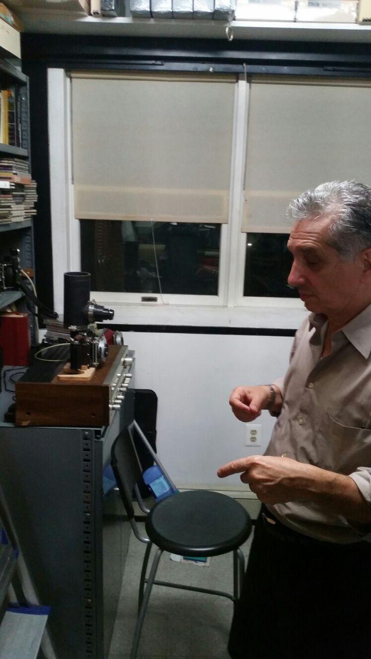 Thomas Roma's laboratory