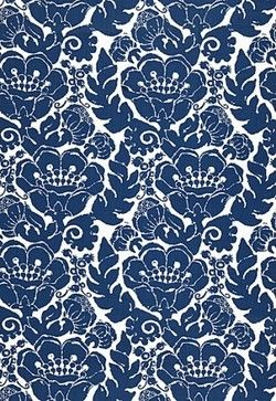 Louis Nui Print Fabric - traditional - outdoor fabric - Covered In Style Inc