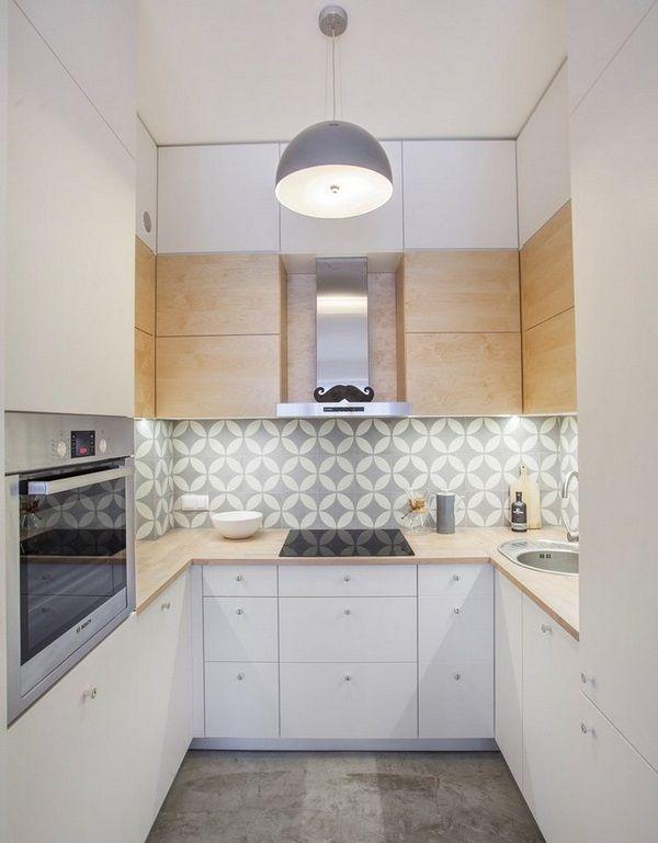 idées d'aménagement placard de la chambre étagères motif de papier peint