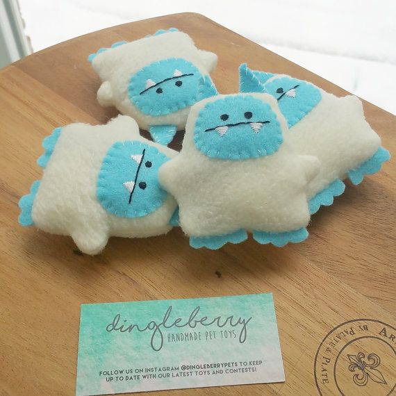 Hey, I found this really awesome Etsy listing at https://www.etsy.com/listing/275293158/abominable-snowman-yeti-monster-catnip