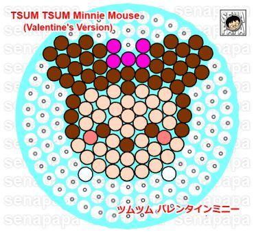 tsum tsum Valentines Minnie
