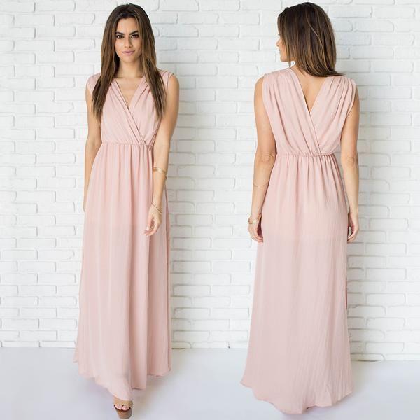 Best 25  Pink maxi dresses ideas on Pinterest | Pink maxi, Maxi ...