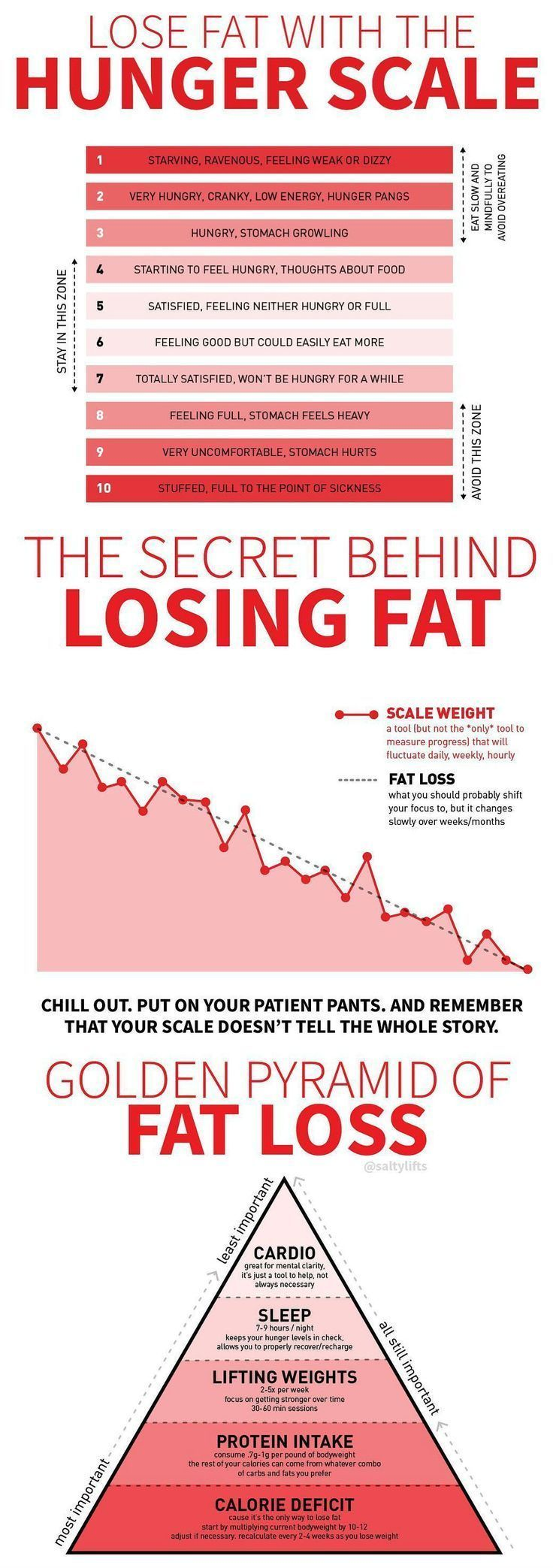 How To Feel Full And Lose Fat With The Hunger Scale Tips