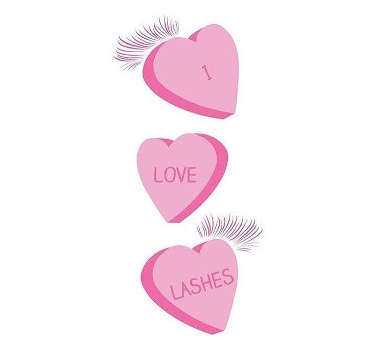 Happy Valentine Day!  prettylittelashesyyc.com Eyelash Extensions