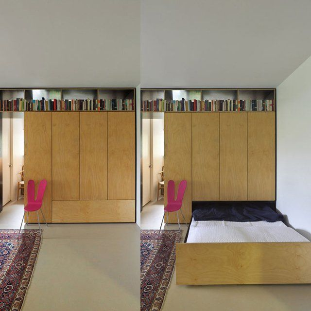 hmmmm... good idea for guest room.... Fancy - Hidden Bed by Anthony Gill