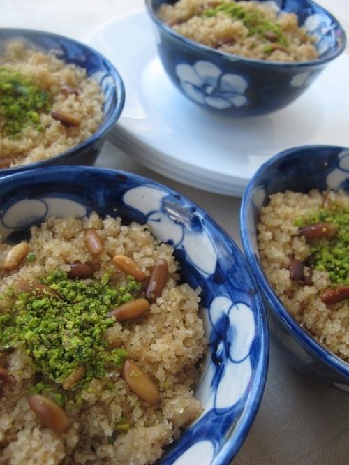 İrmik Helvası (semolina helva) Turkish cuisine