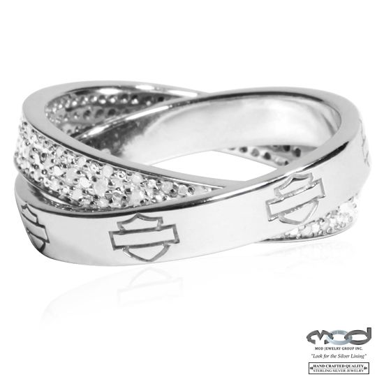 Lovely Harley diamond wrap ring from MOD jewelry