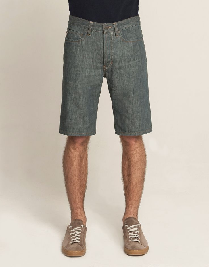 5 Pocket Short - Slate
