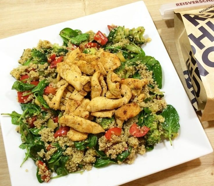 Warmer Quinoa-Salat - mit H