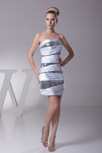 Strapless Beaded Pageant Dress For Miss World in Good Quality