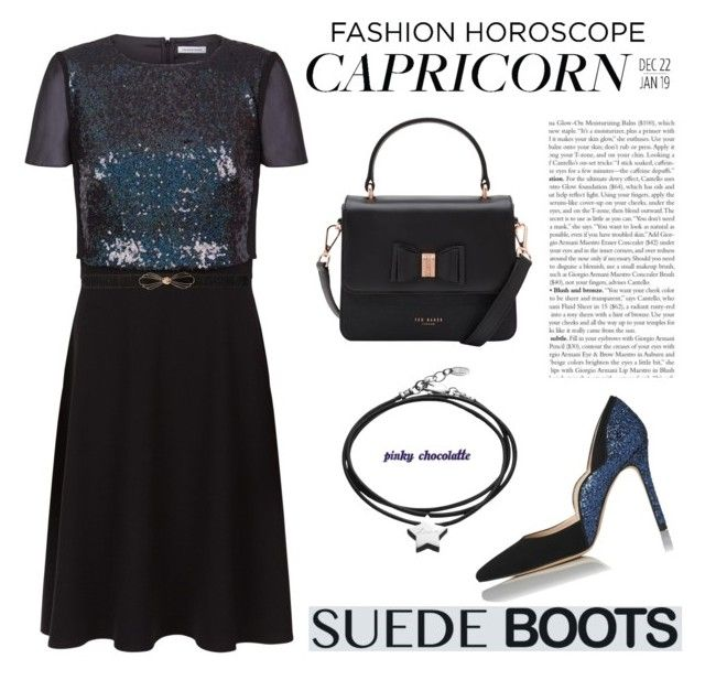 """#175 Fashion Horoscope for Capricorn Zodiac Sign: 14/11/15 (WGC)"" by pinky-chocolatte ❤ liked on Polyvore featuring Fenn Wright Manson, Ted Baker, L.K.Bennett, Des Petits Hauts and Under the Rose"